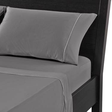 Picture of Dri-Tec BedGear Grey Sheet Set