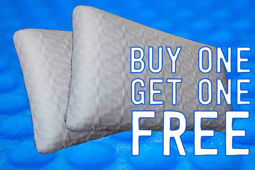 Picture of BUY 1 GET ONE ZERO PILLOWS
